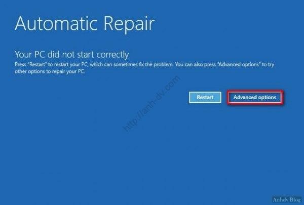 Automatic Repair anhdv