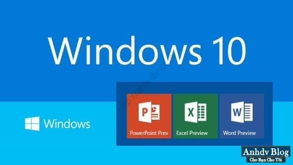tải Windows và Office chính chủ từ Microsoft Microsoft