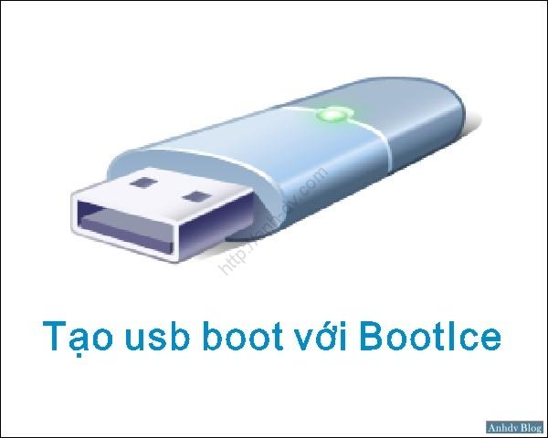 Tạo usb boot với phân vùng ẩn bằng phần mềm Bootice UEFI, Legacy