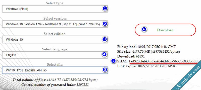 Hướng dẫn download windows và office trực tiếp từ Microsoft