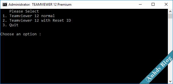 Khắc phục lỗi TeamViewer giới hạn thời gian, hết hạn dùng thử, reset ID