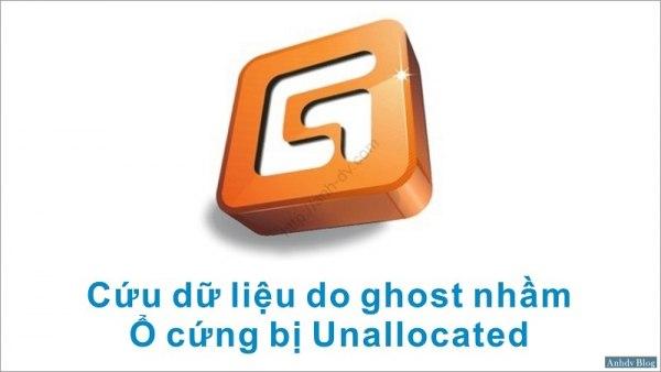 Cứu dữ liệu do Ghost nhầm