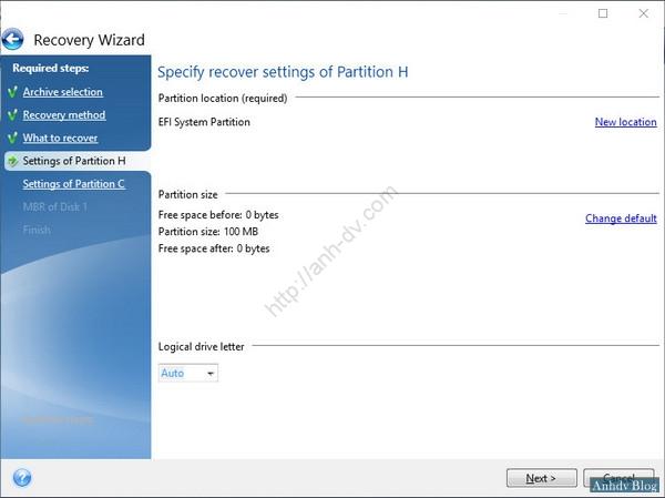 Ghost Windows 10 UEFI - EFI