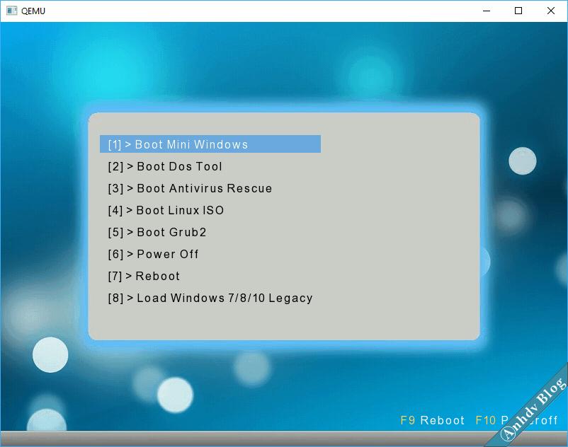 Tạo usb boot uefi legacy với 1 click thành công