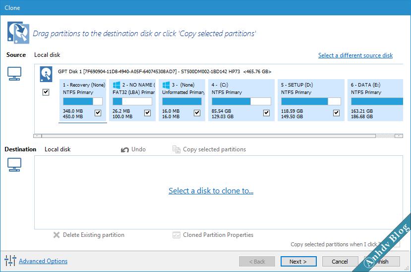Chọn ổ cứng mới SSD/HDD để di chuyển Win sang