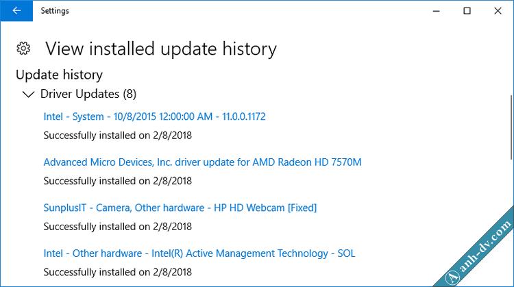 Cách cài đặt driver Windows 10 chuẩn bằng Windows Update