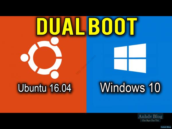 Hướng dẫn cách cài đặt song song Ubuntu với Windows 10/8/7 UEFI, legacy