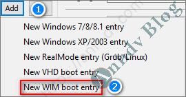 Thêm Menu Mini Windows - Add