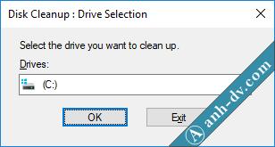 Dọn dẹp ổ cứng, xóa Windows.old với Disk Cleanup 1