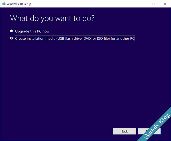 Windows 10-1607-media-tool