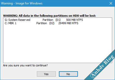 Bung file ghost với Terabyte 3