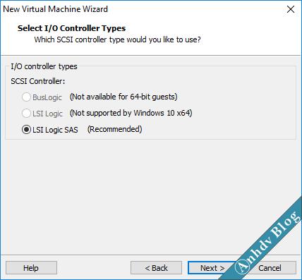Tạo máy ảo VMware UEFI Legacy 10
