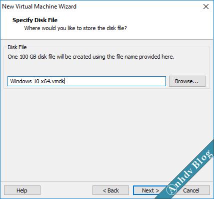 Tạo máy ảo VMware UEFI Legacy 14