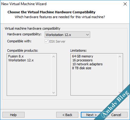 Tạo máy ảo VMware UEFI Legacy 2