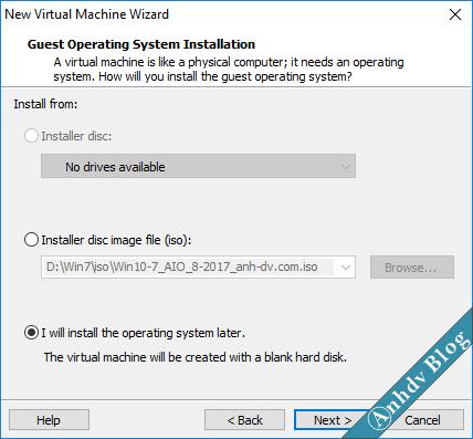 Tạo máy ảo VMware UEFI Legacy 3
