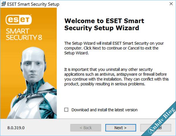 Eset-smart-security-8-setup