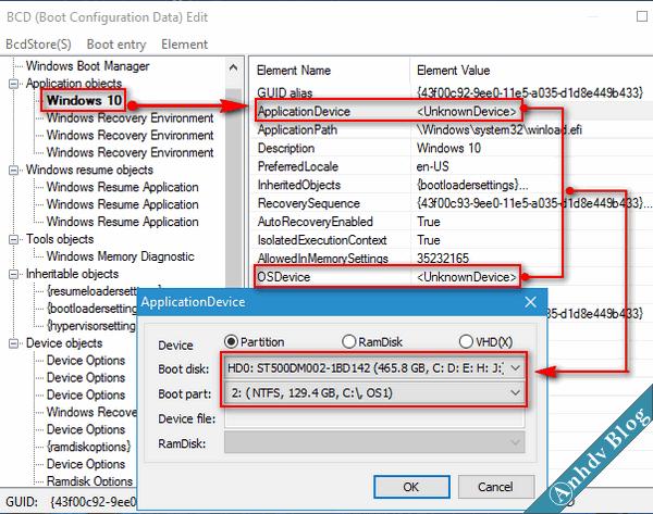 Sửa lỗi màn hình xanh Recover với BootIce