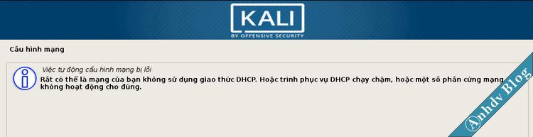 Cài đặt song song Kali Linux và Windows 10 - cấu hình mạng