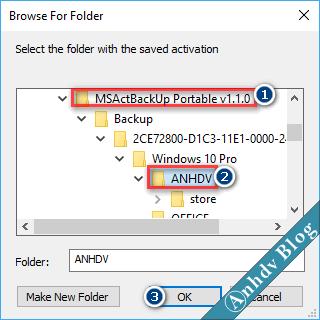 Phục hồi bản quyền Windows và Office