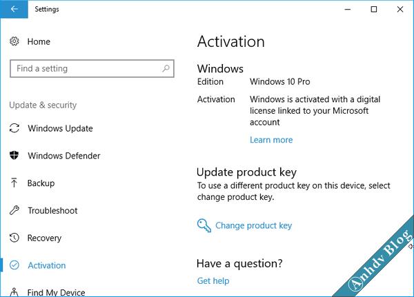 Sao lưu phục hồi bản quyền Windows và Offices - Activation