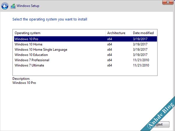 Windows 10/7 AIO cập nhật mới nhất 64 bit