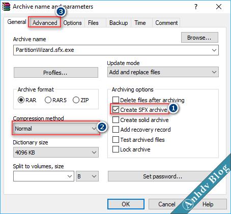 Tạo phần mềm Portable dạng EXE với WinRAR 4