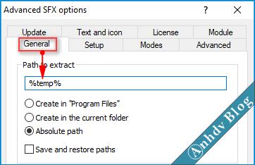 Tạo phần mềm Portable dạng EXE với WinRAR 5