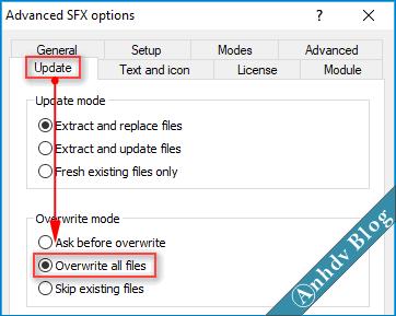 Tạo phần mềm Portable dạng EXE với WinRAR 6