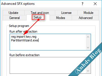Tạo phần mềm Portable dạng EXE với WinRAR 7