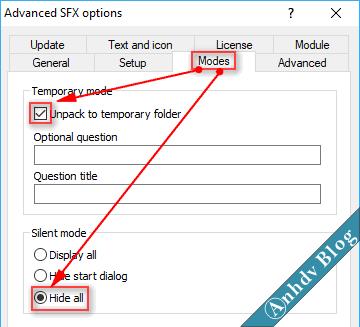 Tạo phần mềm Portable dạng EXE với WinRAR 8