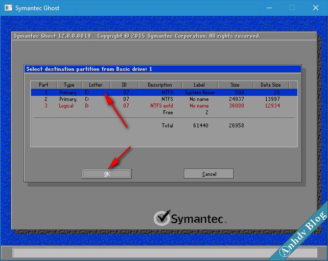 Ghost file GHO Win UEFI và Legacy chuẩn - 5