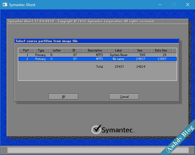 Ghost file GHO Win UEFI và Legacy chuẩn - 8