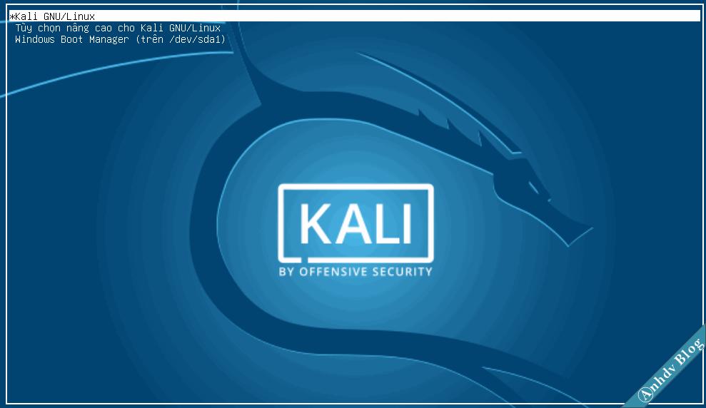 Lỗi mất Grub2 khi cài song song Kali Linux và Windows 10/8/7