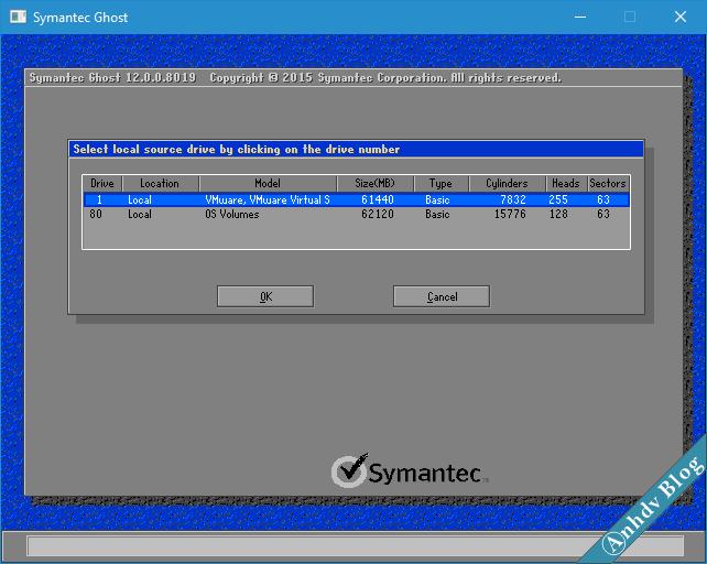 Tạo file ghost GHO win UEFI và Legacy 2-