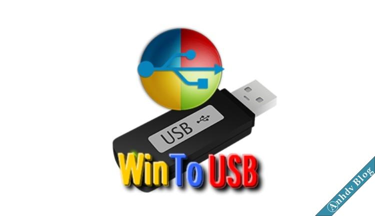 Cài đặt Windows lên USB với WinToUSB