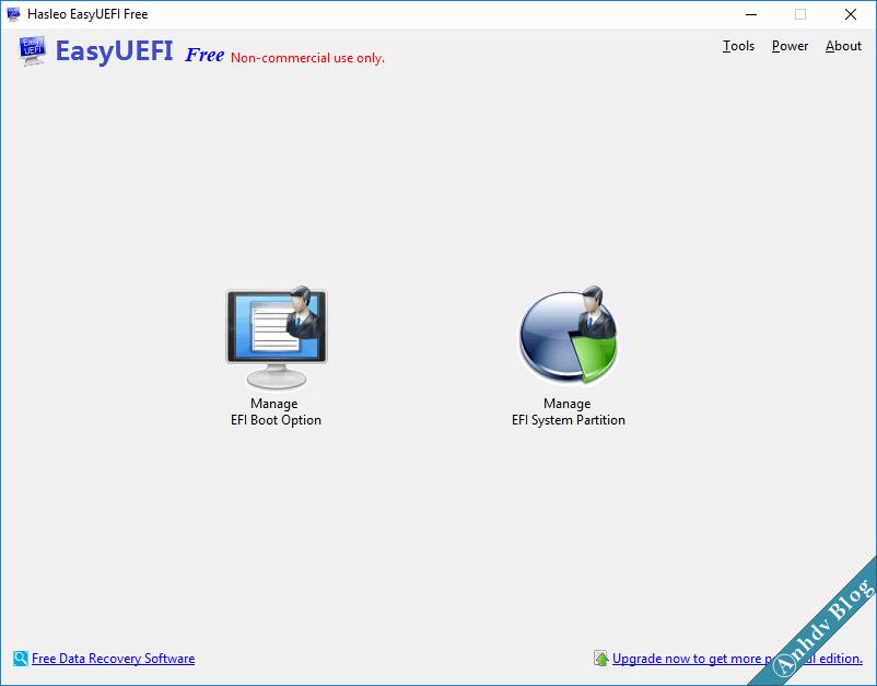 Phần mềm EasyUEFI