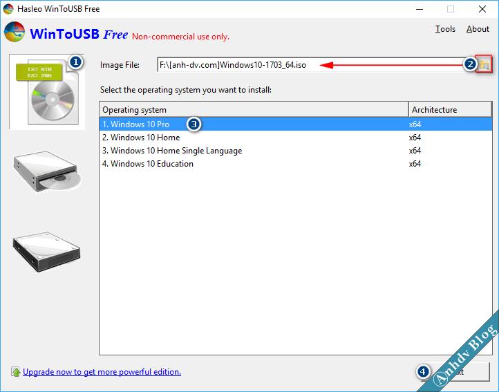 Cài đặt Windows lên USB từ file ISO