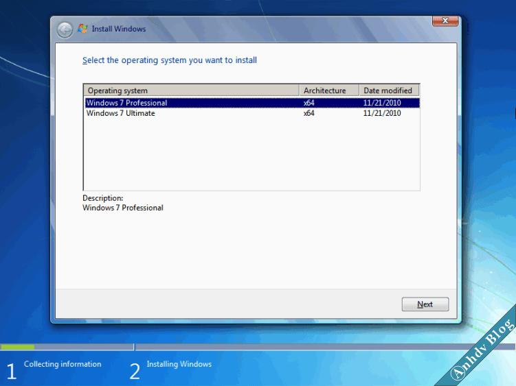 Bộ cài Windows 7 cập nhật mới nhất