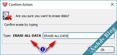Xóa dữ liệu vĩnh viễn với KillDisk 3