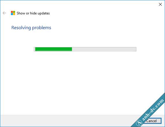 Phần mềm Show or Hide udpates giúp ngăn chặn các bản cập nhật 4