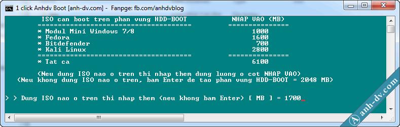 tạo boot cho HDD Box không mất dữ liệu và có hỗ trợ UEFI 3