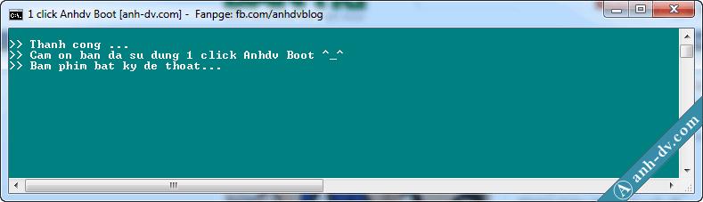 tạo boot cho HDD Box không mất dữ liệu và có hỗ trợ UEFI 6