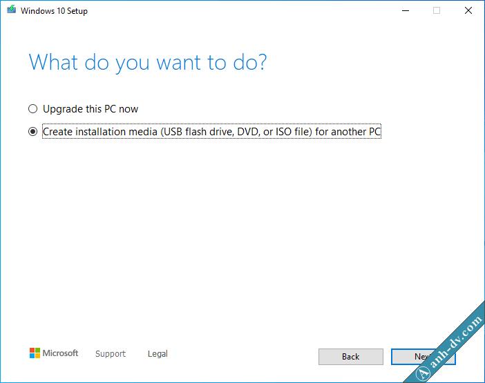 Tải về Windows 10 Version 1909 bằng Media Creation Tools 1